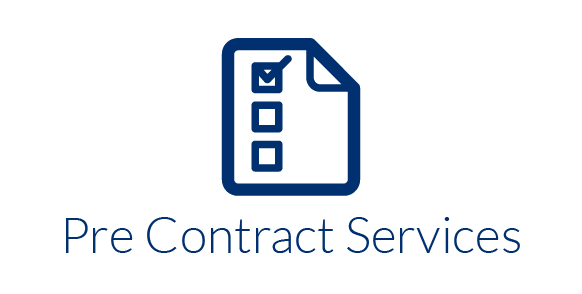 pre contract services